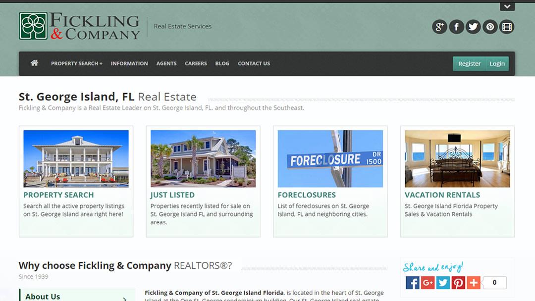St George Island Real Estate Fickling Amp Company Realtors
